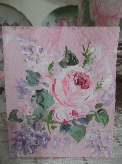(Lilac Rosa) Handpainted Sign