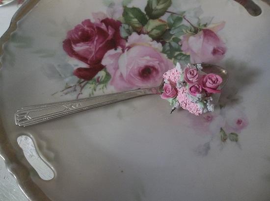 (Darling Dana) Decorated Vintage Spoon