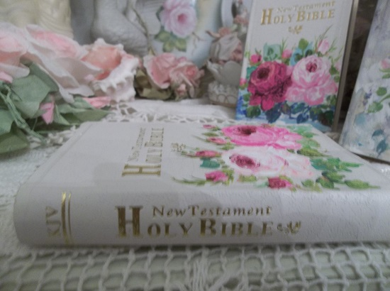 (Holy Holy Holy) Mini Handpainted New Testament Bible