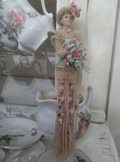 (Elizabeth) Decorated Tassel Doll Ornament