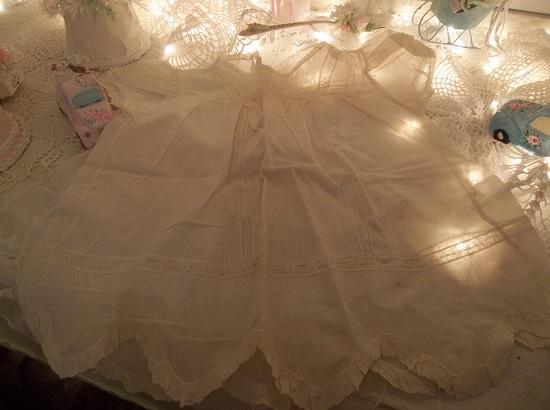 (Vintage Sweetie) Old Handmade Baby Dress