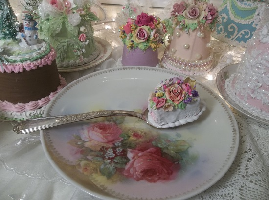 (Yummy Girl) Decorated Vintage Serving Spoon