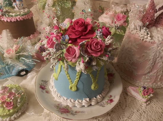 (Court Jester) Funky Junk Fake Cake