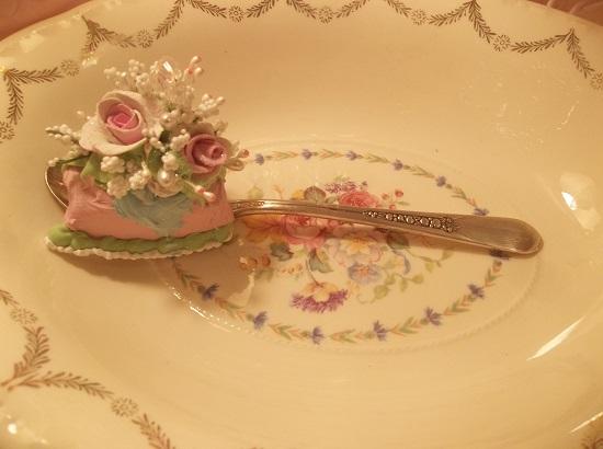 (Summer) Decorated Vintage Teaspoon