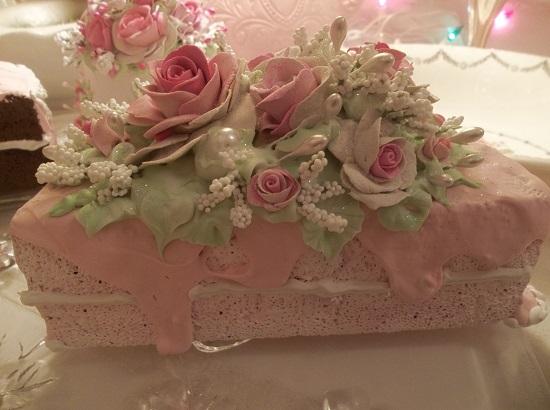 (Once Upon A Pink Half Moon) Fake Cake