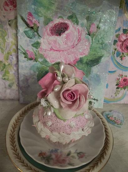(Matildie) Fake Cupcake