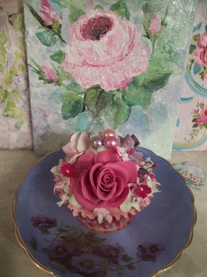(Rapunzel) Fake Cupcake