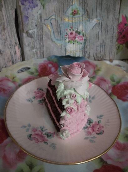 (Poodles) Fake Cake Slice