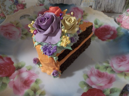 (Twist Of Autumn) Fake Cake Slice