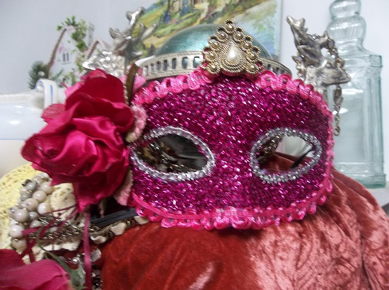 (Gypsy Queen) Decorated Carnival Mask