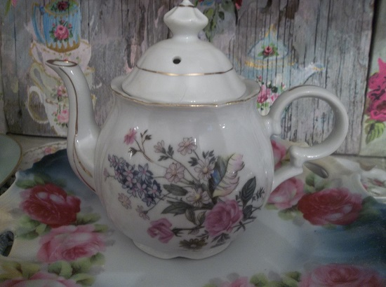 (I'm A Little Teapot) Porcelain Teapot