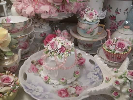 (Pearl Sweet Pearl) Funky Junk Fake Cake