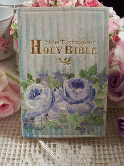 (D Bible) Handpainted Pocket New Testament Bible