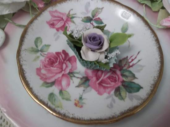 (Carmen) Clay Rose Handmade  Cottage Decor