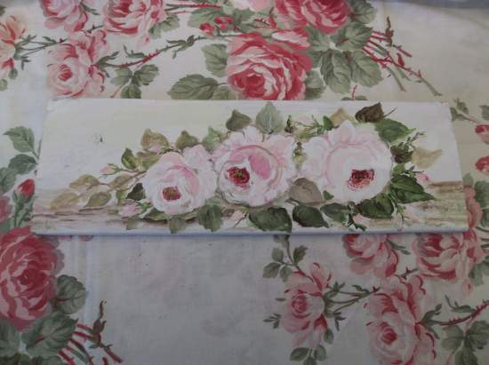 (Softest Roses) Handpainted Sign