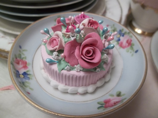(Forget Me Not Summer) Funky Junk Fake Cake