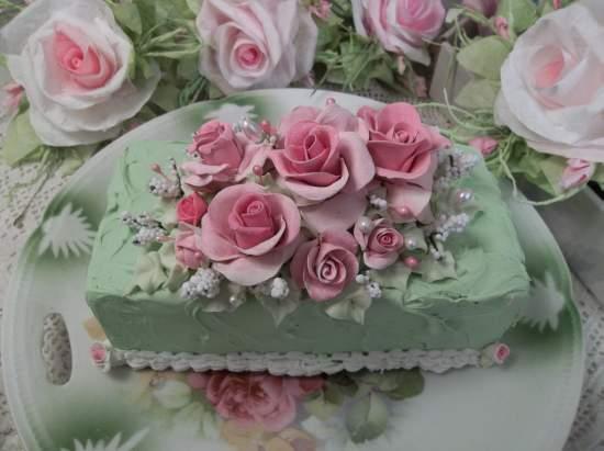(Barbara Rosa) Fake Bar Cake