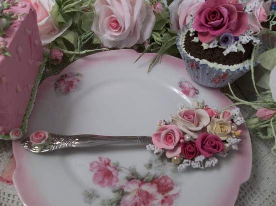 (Hope) Decorated Tablespoon Not Vintage.