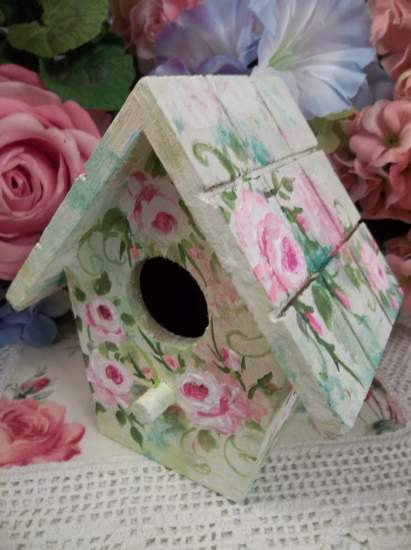 (Dream) Handpainted Bird House
