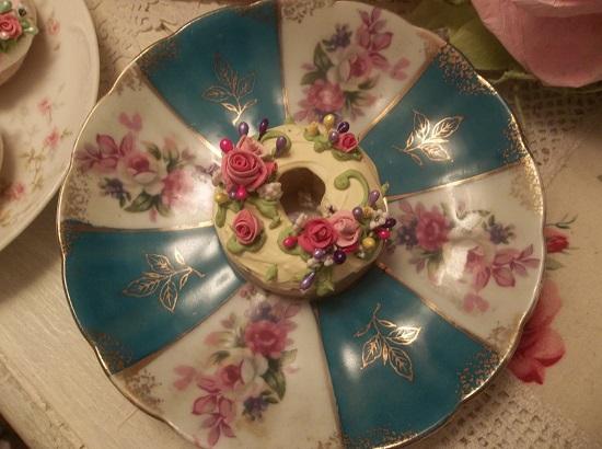 (Cecile) Decorated Mini Donut