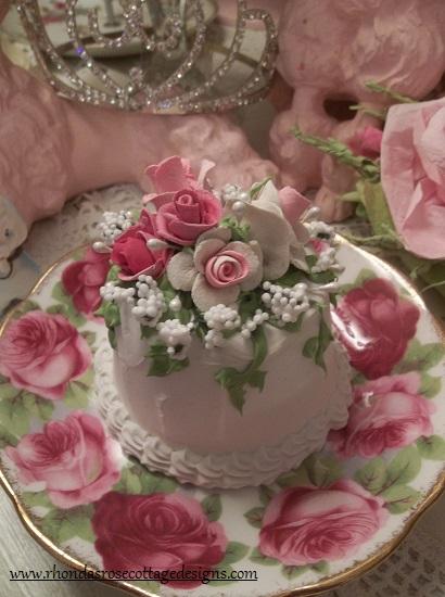 (Selma Rosa) Funky Junk Fake Cake