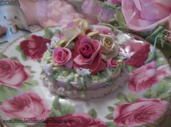 (Beautiful Brenda) Funky Junk Fake Cake