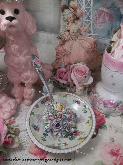 (To The Moon And Back) Large Decorated Tablespoon Not Vintage.
