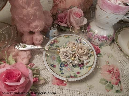 (Moon Struck) Large Vintage Serving Spoon Decoration