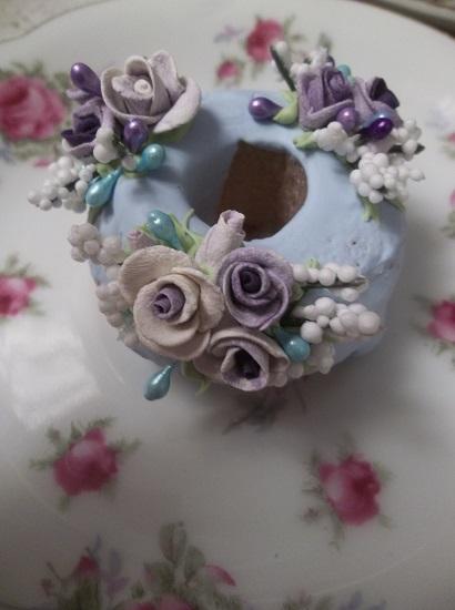 (Linda) Decorated Mini Donut