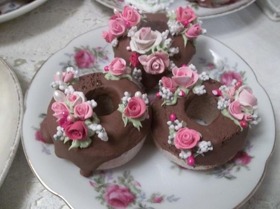 (Darlings) Set Of 3 Mini Donuts