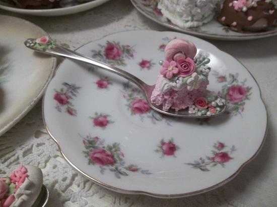 (Candie Land) Vintage Teaspoon Decoration
