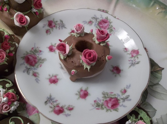 (Cake Donut) Decorated Mini Donut