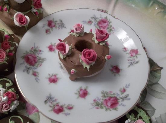 (Cake Donut) Decorated Mini Donut