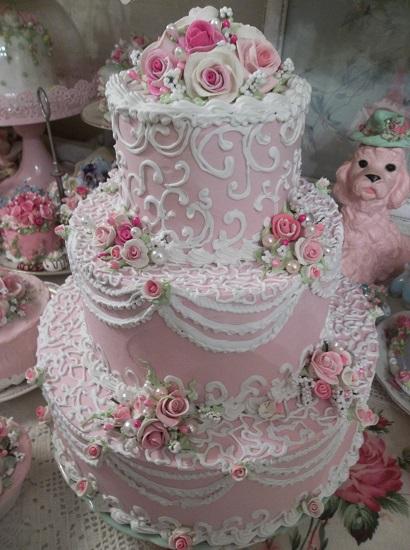 (Miss Marie Antoinette) Fake Cake