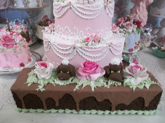(Wonder Bar) Fake Cake Bar Cake