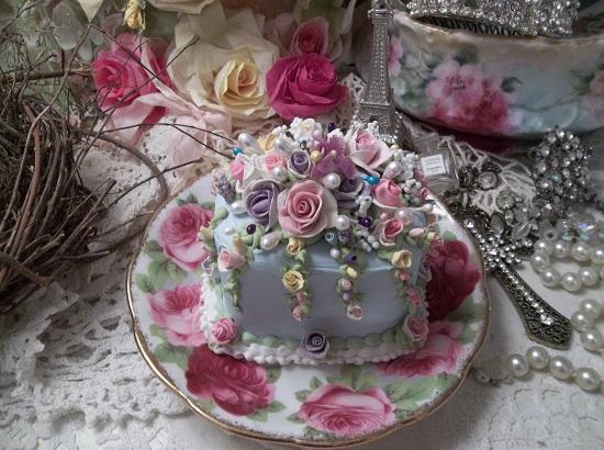 (Garden Day Dreams) Funky Junk Fake Cake