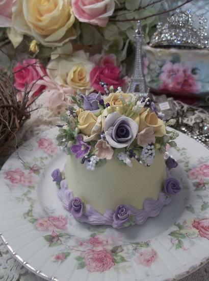 (Praising Pansy) Fake Cake