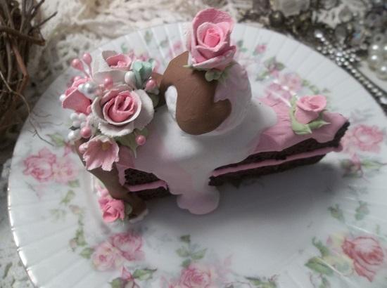 (Wonderful Wyonia) Fake Cake Slice