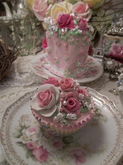 (Rita Rosa) Fake Cupcake