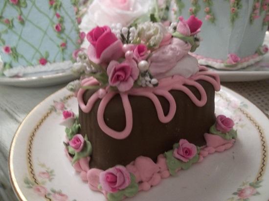 (Small Cake) Funky Junk Fake Cake