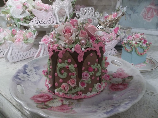 (Silly Millie) Funky Junk Fake Cake