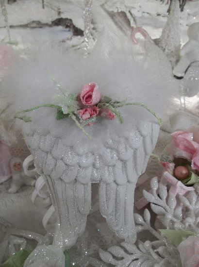 (Dianatha) Angel Wings Valentines Day, Christmas Ornament