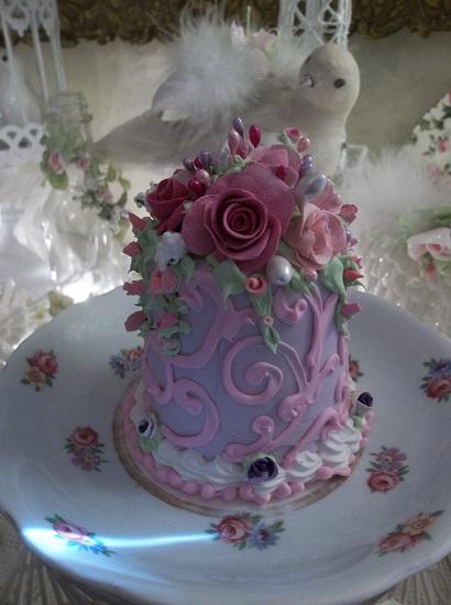 (Vivianna) Funky Junk Fake Cake