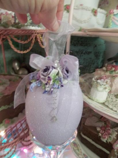 (Lavender Love) Easter Egg Decor