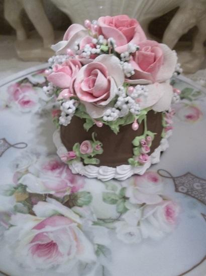 (Cleopatra) Funky Junk Fake Cake