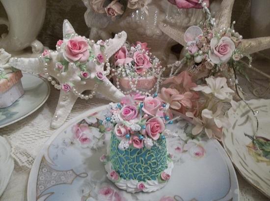 (Hanahbelle) Funky Junk Fake Cake