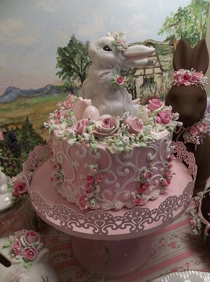 (Bridgette Bunny Cake) Fake Cake