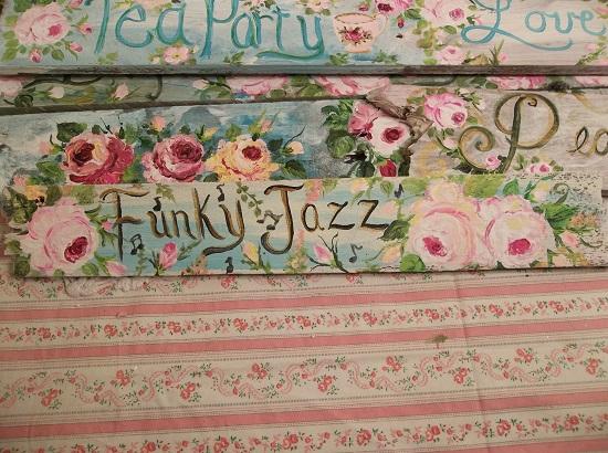 (Funky Jazz) Handpainted Sign
