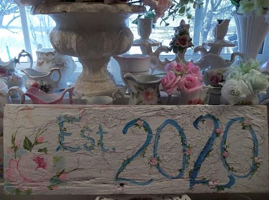 (Established 2020) Handpainted Sign