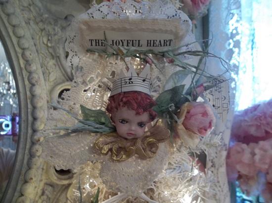 (The Joyful Heart) Handmade Paper Rose Clip
